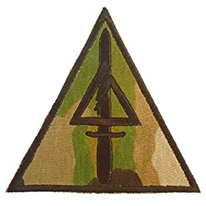Multicam Delta Force US Armée Operational Detachment Delta SFODA-D SFG COD Call of Duty Velcro Écusson Écusson