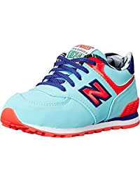 New Balance Kids Baby Girl's KL574 (Infant/Toddler)