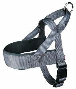 Premium Comfort harnais, Chien L-XL: 68-88 cm/50 mm, bis - confortable à porter grâce à la doublure ventrale néoprene