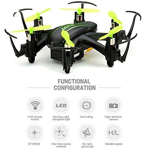 megadream-H20-C-20-MP-HD-Kamera-4-CH-JJRC-Flying-Quadcopter-Drone-mit-Przision-empfindliche-Betrieb-360-Grad-verdrehungsfunktionauto-return-Modus6-Axis-GyroNacht-Navigation-LichtCF-Modus-fr-Flying-Aue