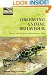 Observing Animal Behaviour: Design an...