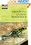 Observing Animal Behaviour: design an...