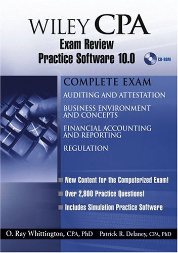 Wiley Cpa Exam Review Practice Software 10.0