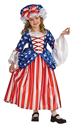 Kids-Costume Betsy Ross Child Costume Md 8-10 Halloween Costume