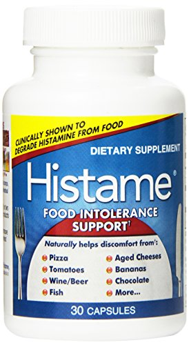 Naturally Vitamins Histame Food Intolerance Support, 30 Count