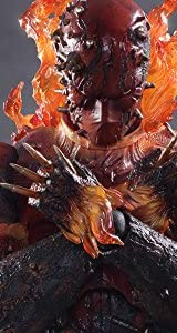 PLAY ARTS改 METAL GEAR SOLID V THE PHANTOM PAIN 燃える男 PVC製 塗装済み可動フィギュア