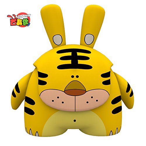 iNewcow MASK BEAR Chinese Zodiac Cute Animal Tiger Originality Dolls Car Decorations Gift For Kids 6*5.5*3.8CM (Tiger) - 1
