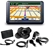 Garmin n�vi 255W 4.3-Inch Widescreen Portable GPS Navigator with Accessory Bundle ~ Garmin