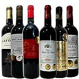 【福袋】 全てボルドー金賞受賞 高樹齢 生産者元詰 贅沢飲み比べ 厳選セレクト 赤ワイン 6本 ワインセット 750ml 6本 ランキングお取り寄せ
