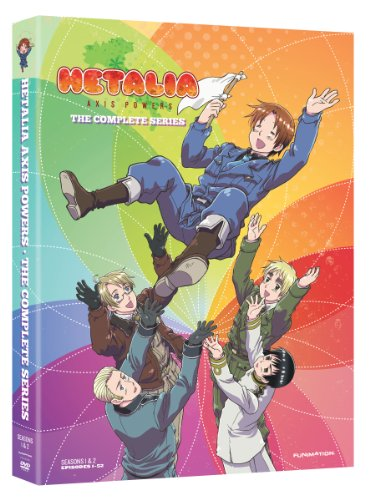 Axis Powers ヘタリア [DVD-BOX] [北米版](全52話) 日本語音声・英語音声字幕版
