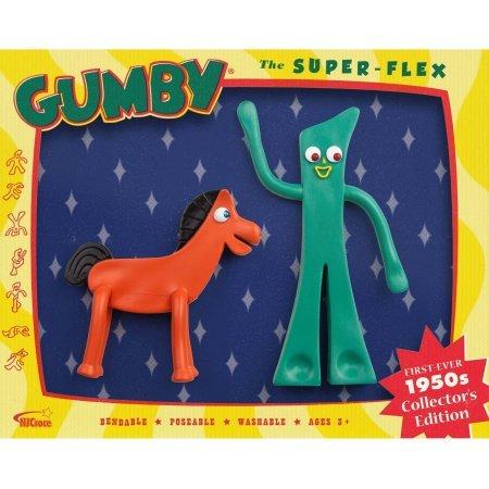 DC Comics 1950'S Edition Gumby and Pokey Bendable Figure Set