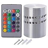 Sunix® RGB Fernbedienung Kontroller Zylinder Deckenleuchte