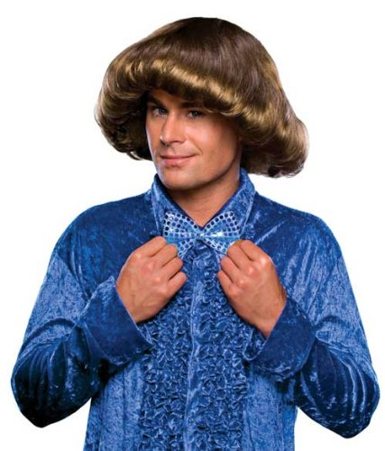 Rubie's Costume Co Men's 70's Prom Wig