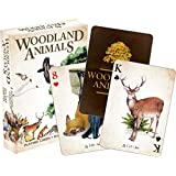 Woodland Animals Playing Cards