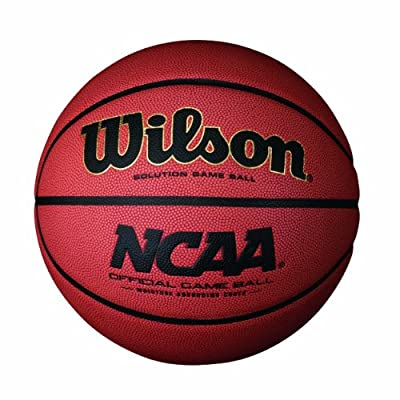 Wilson Sporting Goods NCAA Solution Indoor Team Game Basketball