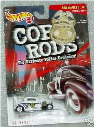 Hot Wheels 1999 Cop Rods: Milwaukee WI '32 Deuce