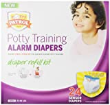Potty Patrol Girls Diaper Refill Kit, 24 Count (Pack of 4)