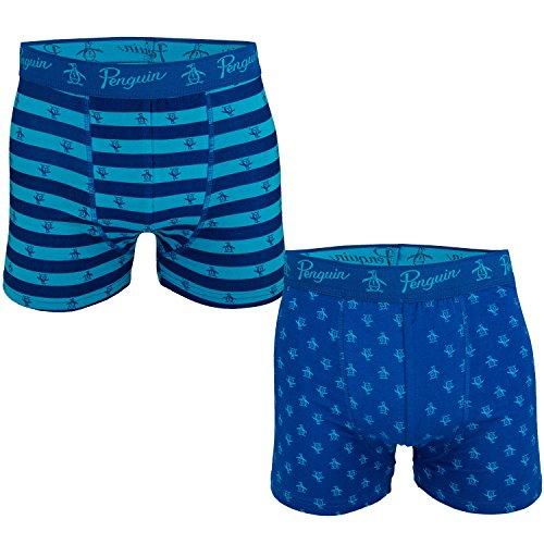 mens-original-penguin-mens-2-pack-boxer-shorts-in-blue-m