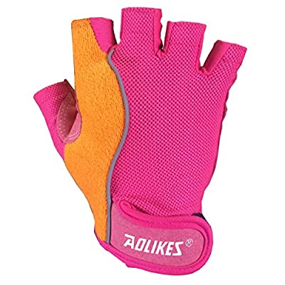 MCTi Women Ladies Breathable Gym Workout Crossfit Training Fitness Weightlifting Cycling Gloves