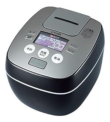 (NEW)Tiger Ih Pressure Rice Cooker Cooked 5.5 Go Cook Raster Black Jpb-g100-kl from JPB-G100-KL