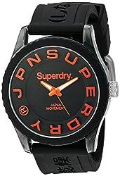 Superdry Analog Black Dial Mens Watch - SYG145B