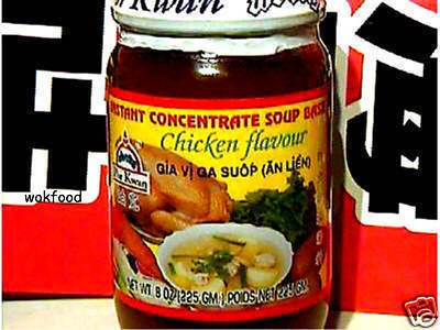 1 GLAS THAI SUPPEN CONCENTRATE HUHN 225g. PASTE