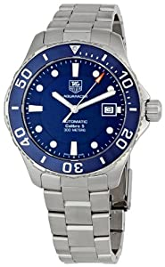 TAG Heuer Men's Aquaracer Stainless Steel Watch (WAN2111.BA0822) from TAG Heuer