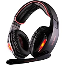 White Version Of SA902 7.1 Channel Gaming Headset SADES SA902 PC Computer USB Headsets Wired Over Ear Stereo Headphones...