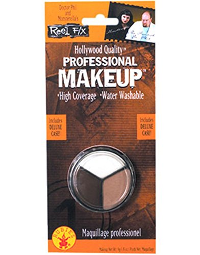 Rubie 27s Costume Co 3 Color Water Washable Costume Makeup White Flesh Brown
