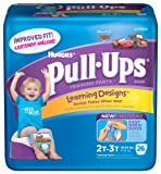 Huggies Pull-Ups Learning Designs Training Pants Jumbo Pack 4T-5T Boy 19ct.