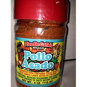 Pico De Gallo's Authentic Pollo Asado Seasoning, 4oz, Locally Produced