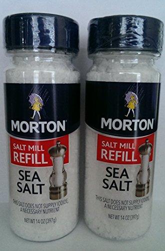 Morton Sea Salt Grinder Refill 14 Oz. (397 G)