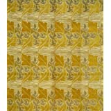 Bird and leaf furnishing fabric, designed by C.F.A.Voysey (V&A Custom Print)