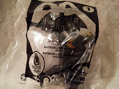 Mcdonalds Happy Meal 2013 Beware the Batman #1 Action Batman Figure