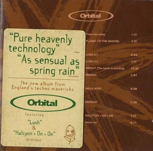 Orbital - Orbital (Green Album) - Zortam Music