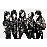 Posterhouzz Music Black Veil Brides Band (Music) United States Glam Metal Hard Rock Heavy Metal HD Fine Art Paper...