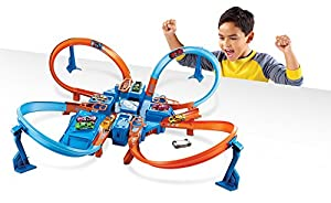 Hot Wheels Criss Cross Crash Track Set from Mattel - Import (Wire Transfer)
