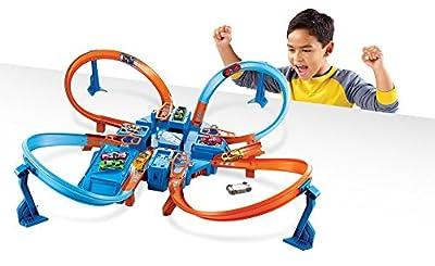 Hot Wheels Criss Cross Crash Track Set from Mattel - Import (Wire Transfer)