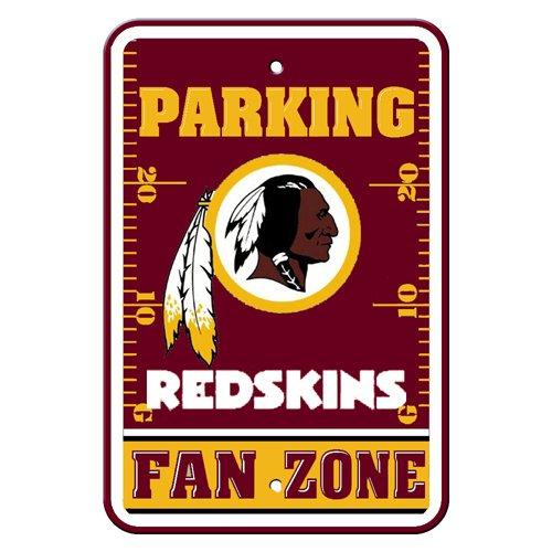 NFL Washington Redskins Plastic Parking Signs