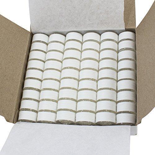 Janome 108 Pre-wound Embroidery Thread Bobbins White (Prewound Bobbins Janome compare prices)