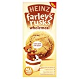Heinz Farley's Wholemeal Rusks 4-6 Months Plus 150 g (Pack of 6)