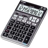 CASIO ワイヤレステンキー電卓 ジャストタイプ ブラック JZ-120WL-BK-N 12桁