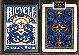 BICYCLE(バイスクル) DRAGON BACK(ドラゴンバック) トランプ 青