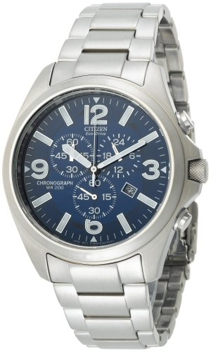 Citizen Men's AT0870-53L Eco-Drive Exclusive Chronograph Stainless Steel Watch