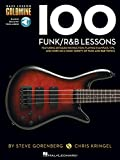 img - for 100 Funk/R&B Lessons: Bass Lesson Goldmine Series book / textbook / text book