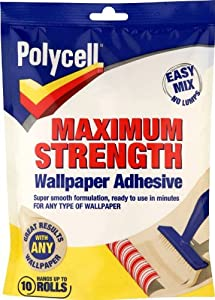 Polycell Maximum Strength Wallpaper Adhesive by AkzoNobel