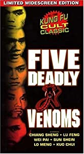 Five Deadly Venoms (Widescreen)