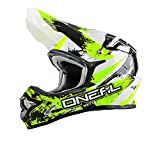 O'neal 3 Series Motocross Enduro MTB Helm Shocker gelb