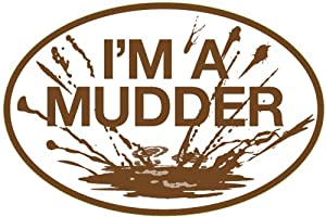 I'M A MUDDER Sticker (Set of 4)
