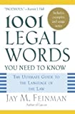 img - for 1001 Legal Words You Need to Know: The Ultimate Guide to the Language of the Law Reprint Edition published by OUP USA (2005) book / textbook / text book